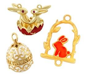 Easter Metallic Parts