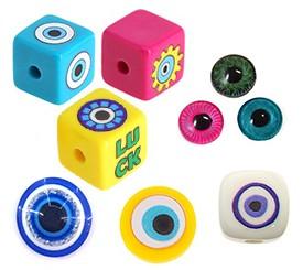 Occhi portafortuna sintetici