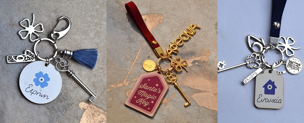 Smart Keychain Ideas for Good Luck !